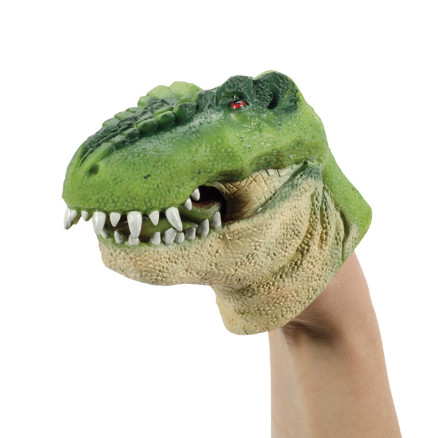 Stretchy Dino Hand Puppet