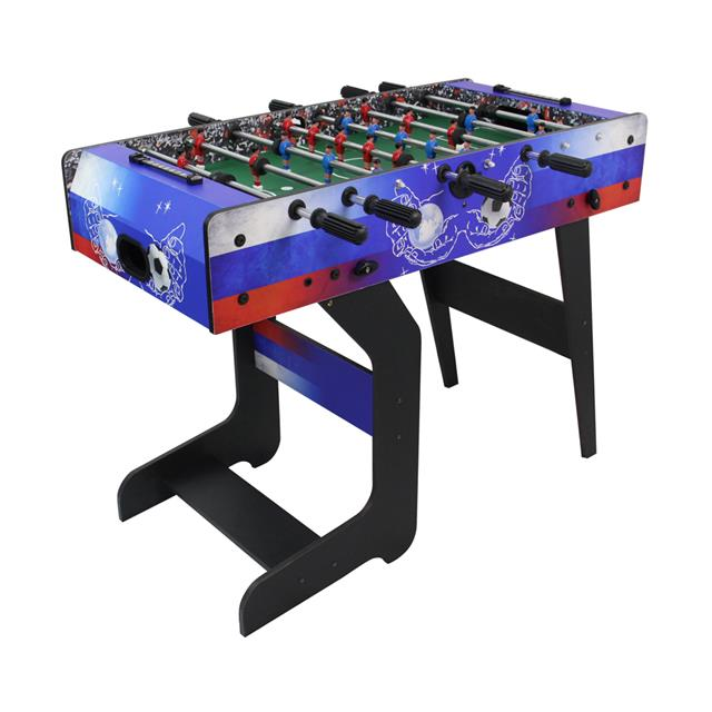 Foosball Table with Folding Stand