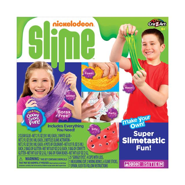 Nickelodeon Deluxe Slime Kit