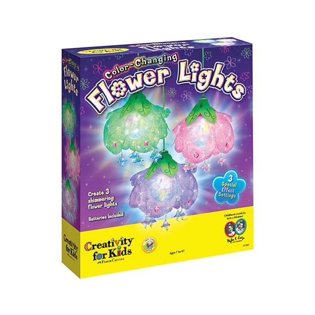 Creativity for Kids Colour Changing Flower Lights