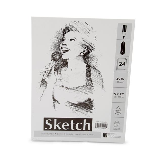Sketch Pad 24 Sheets