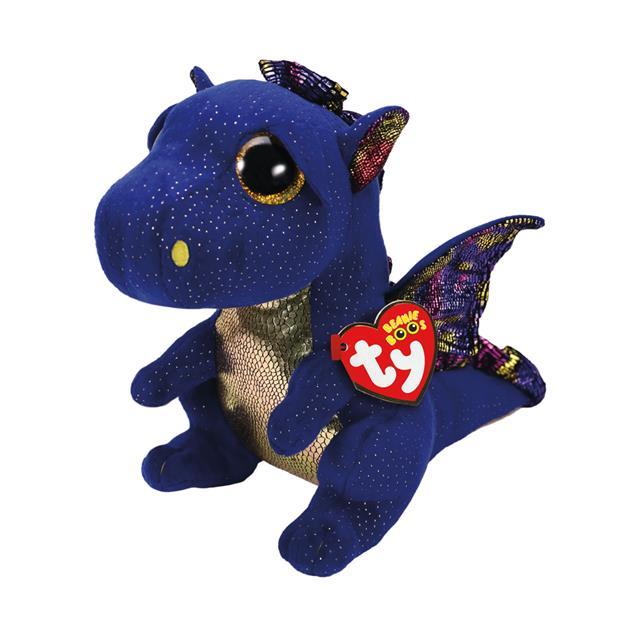 Ty Beanie Boos Medium Saffire the Dragon 9056b94b59f