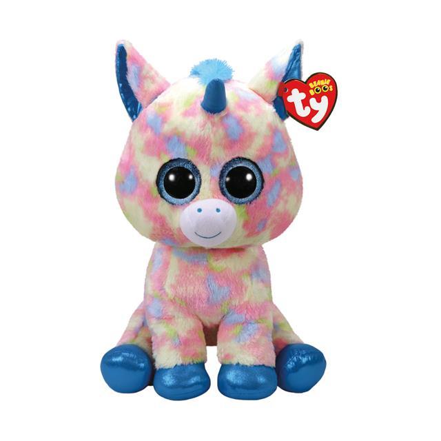 Ty Beanie Boos Large Blitz the Unicorn f87ee7634a0