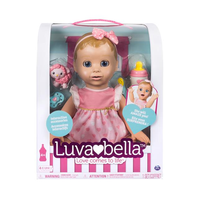 Luvabella Interactive Baby Doll With Blonde Hair