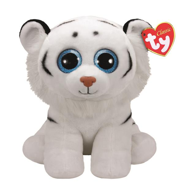 b378c62bdc4 Ty Beanie Babies Large Tundra the White Tiger