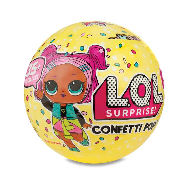 L.O.L. Series 3 Surprise Tots Confetti Pop