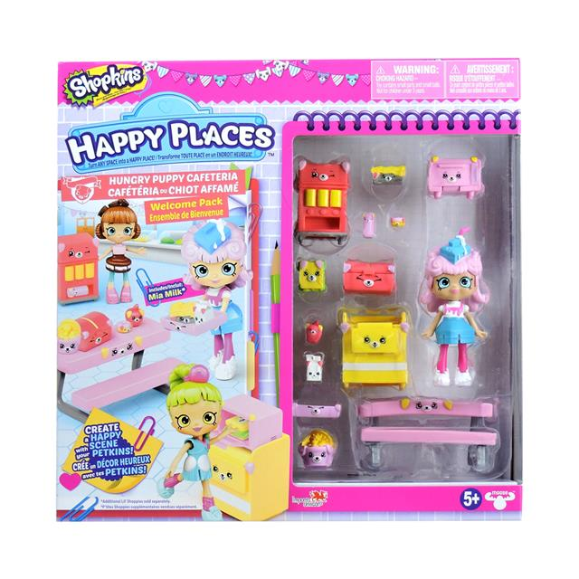 Shopkins Happy Places Season 3 Welcome Pack