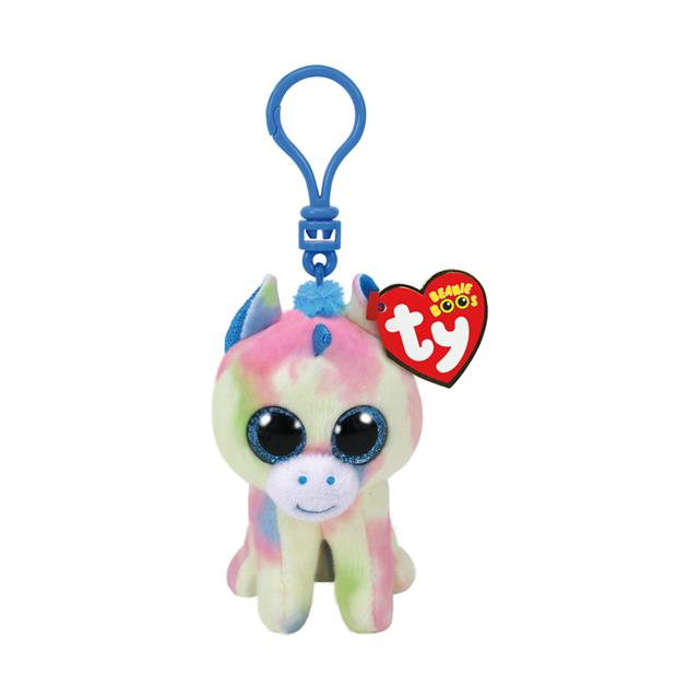 Ty Beanie Boos Clip-On Blitz the Unicorn