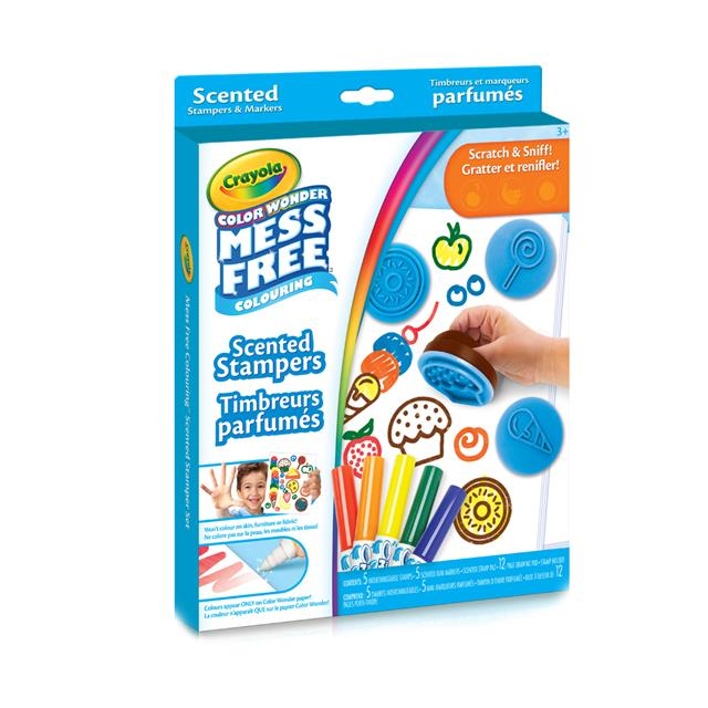 Crayola Colour Wonder Mess Free Colouring Scented Stampers