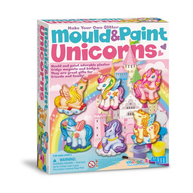 4M Make Your Own Glitter Mould & Paint Unicorns