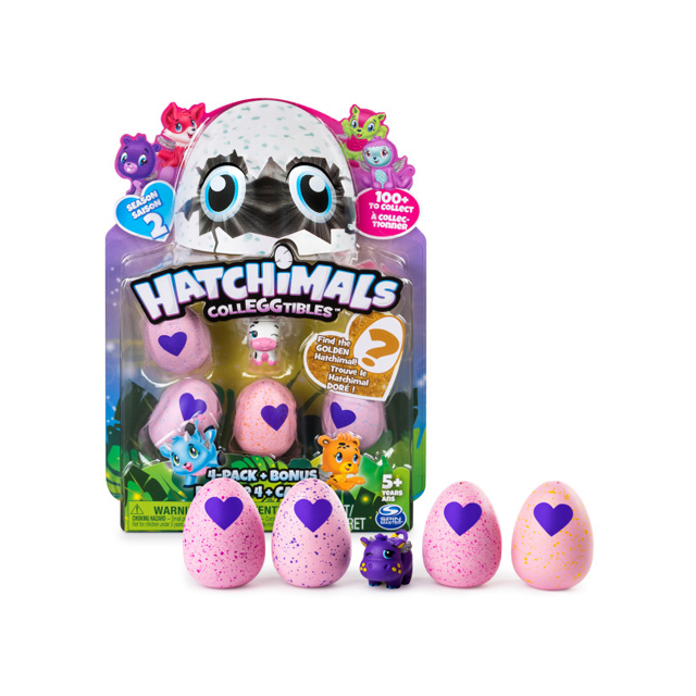 Hatchimals Colleggtibles 4 Pack Season 2