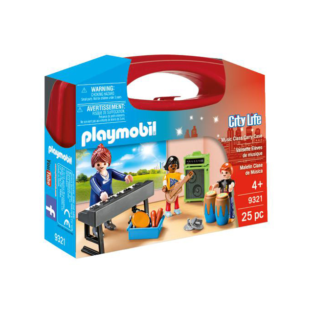 Playmobil City Life Music Lesson Carry Case Small