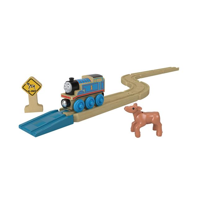 Thomas & Friends Straights & Curves Wood Track Pack