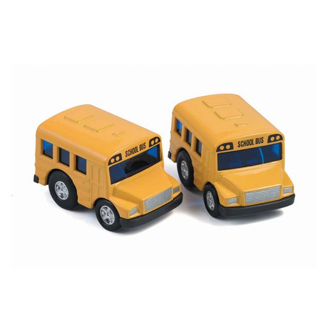 Mini Pull Back School Bus