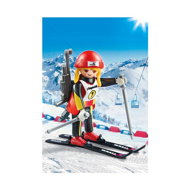 Playmobil Family Fun Female Biathlete