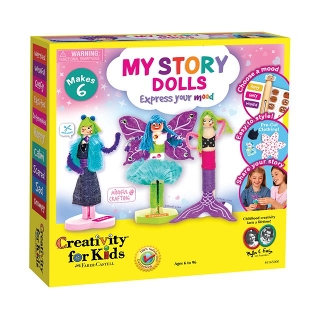 Creativity for Kids My Story Dolls