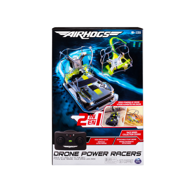 Air Hogs 2-in-1 Drone Power Racers