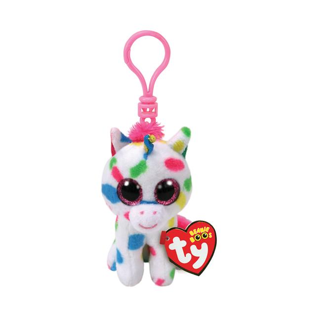 Ty Beanie Boos Clip-On Harmonie the Unicorn