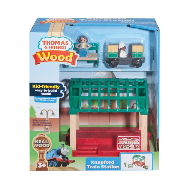 Thomas & Friends Knapford Train Station Wood Destination