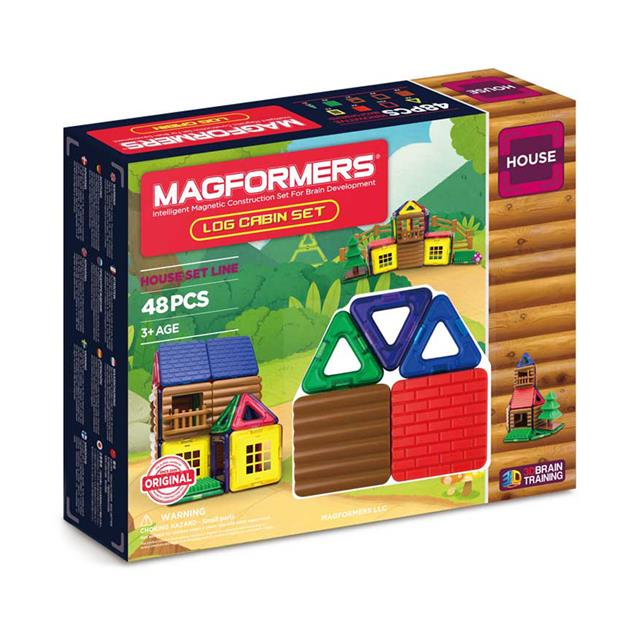 Magformers Log Cabin Set
