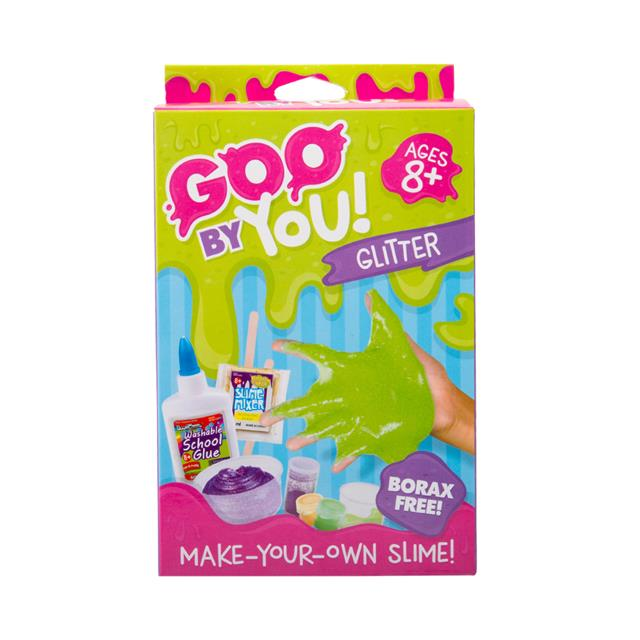 goo by you make your own glitter slime kit small