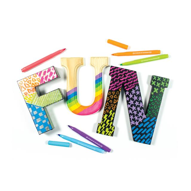 Oodles of Doodles Multi-Surface Markers 10pk