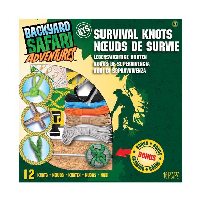 Backyard Safari Adventures Survival Knots Kit