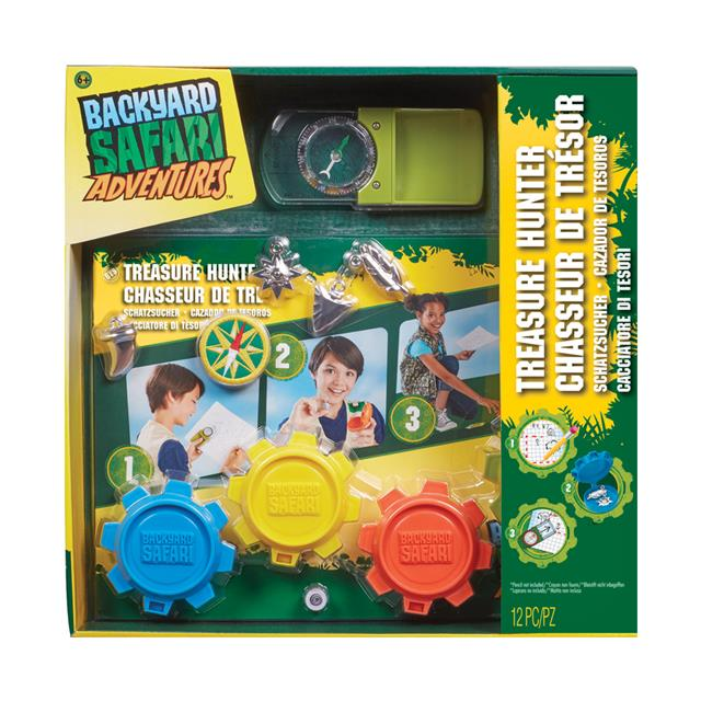 Backyard Safari Adventures Treasure Hunter Kit