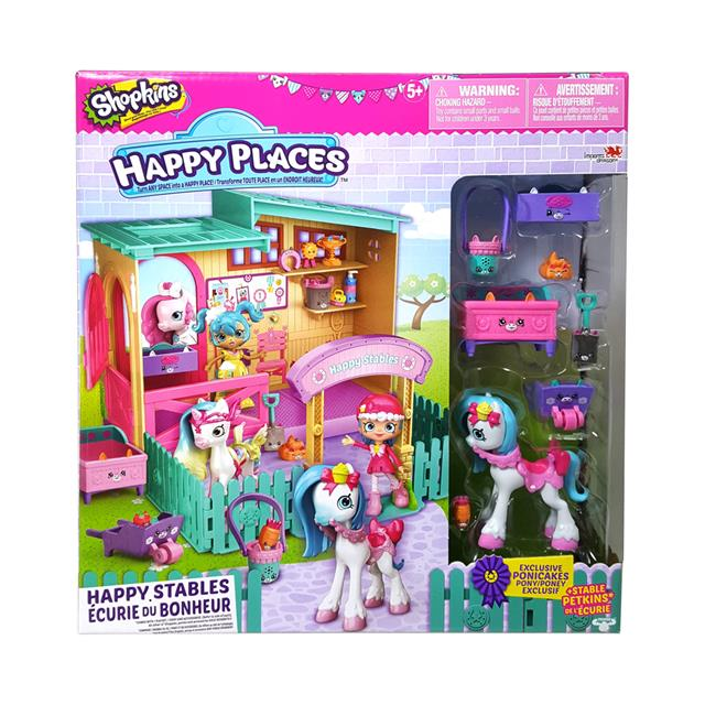 Shopkins Happy Places Stables Season 4 Playset