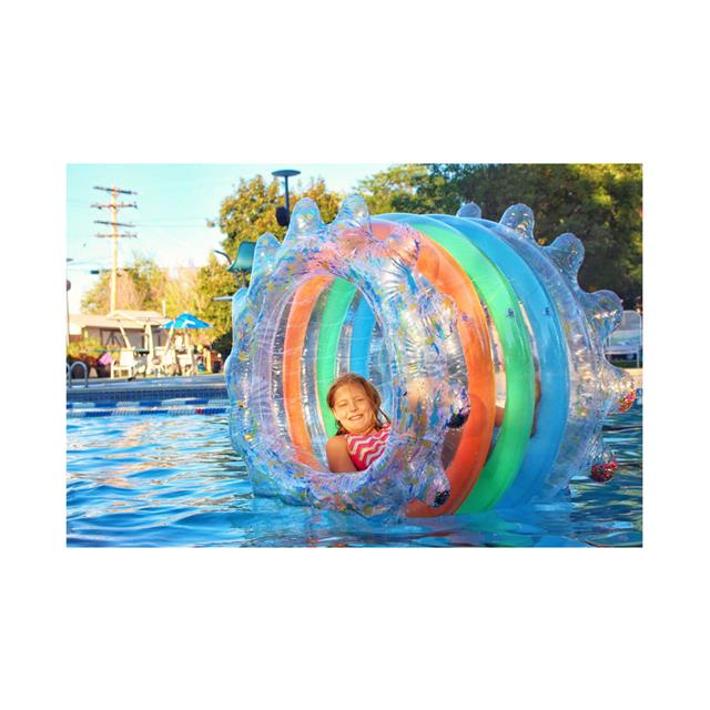 Party Wheel Inflatable Water Roller