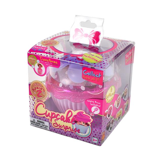 Cupcake Surprise Princess Doll Series 2