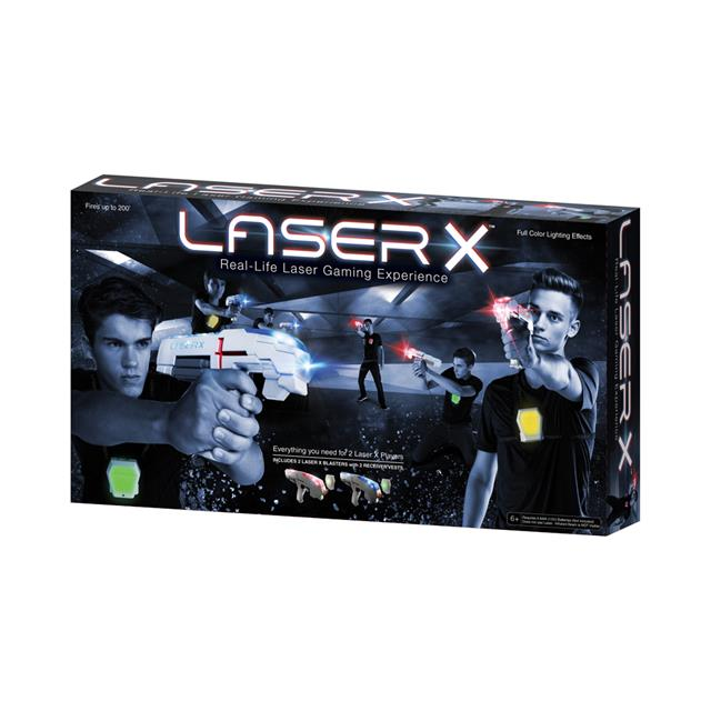 Laser X Real-Life Laser Gaming Experience Double Pack