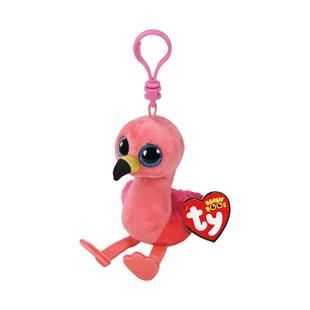 dedc9620647 Ty Beanie Boos Clip-On Gilda the Flamingo