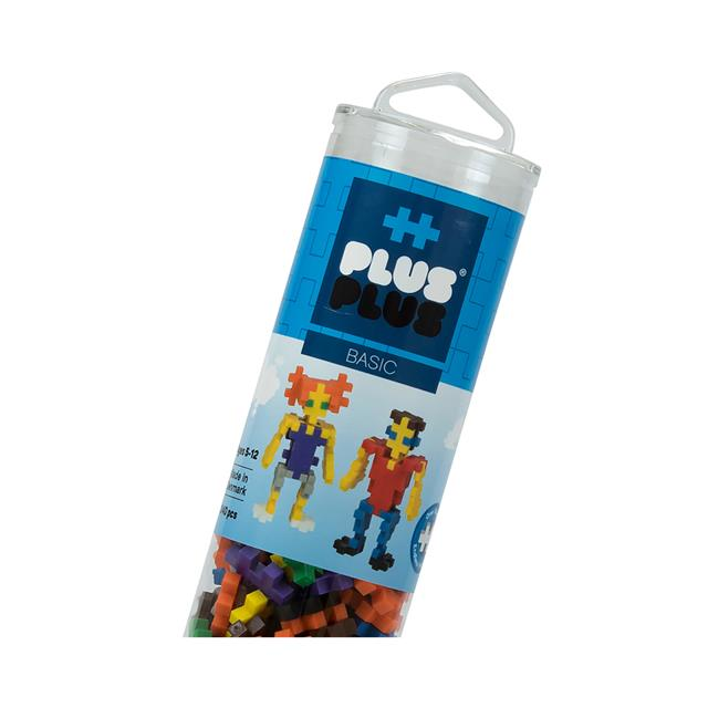 Plus-Plus 240pc Tube Basic Mix