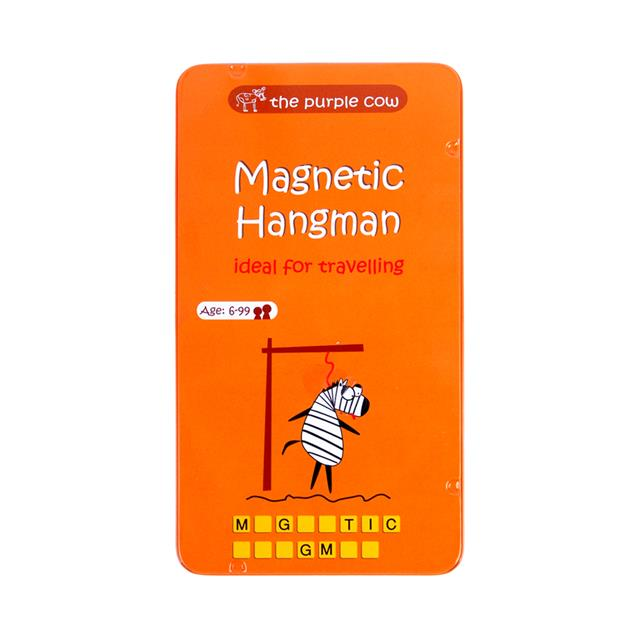 Magnetic Games To Go Hangman