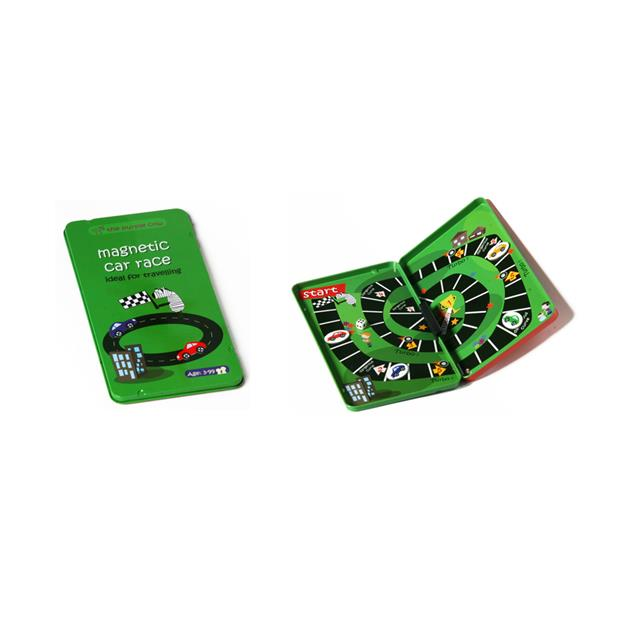Magnetic Games To Go Car Race