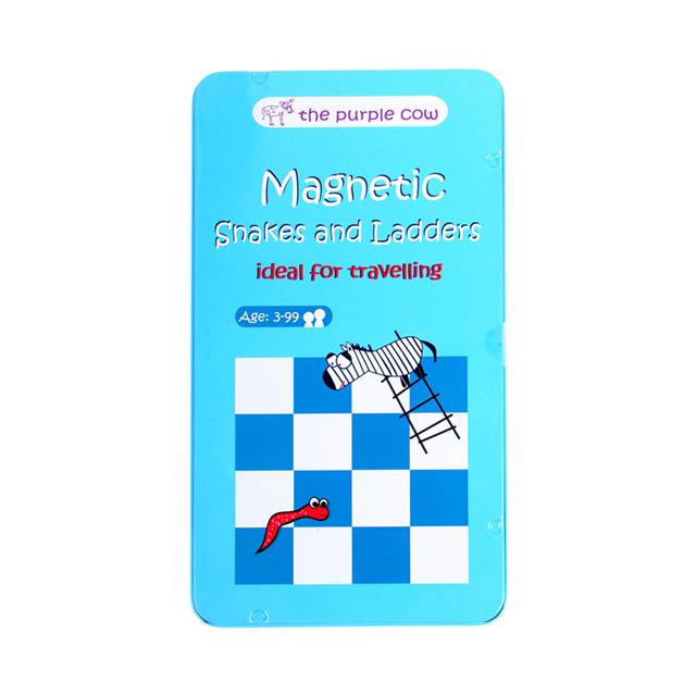Magnetic Games To Go Snakes & Ladders