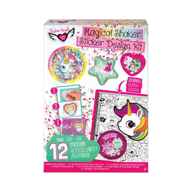 Fashion Angels Magical Shaker Sticker Design Kit