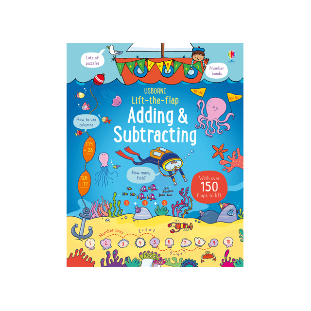 Usborne Lift-the-Flap Adding and Subtracting