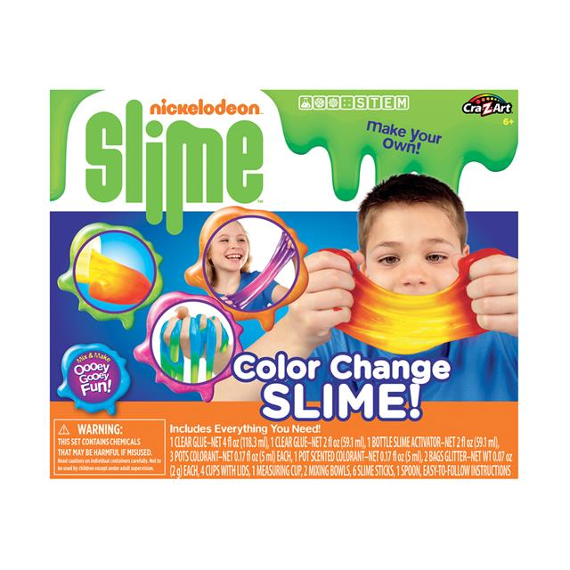 Nickelodeon Colour Changing Slime Kit