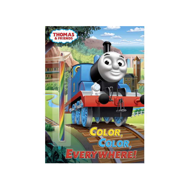 Thomas & Friends Color, Color, Everywhere Coloring Book