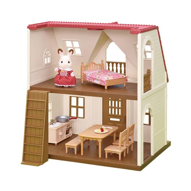 Calico Critters Red Roof Cozy Cottage