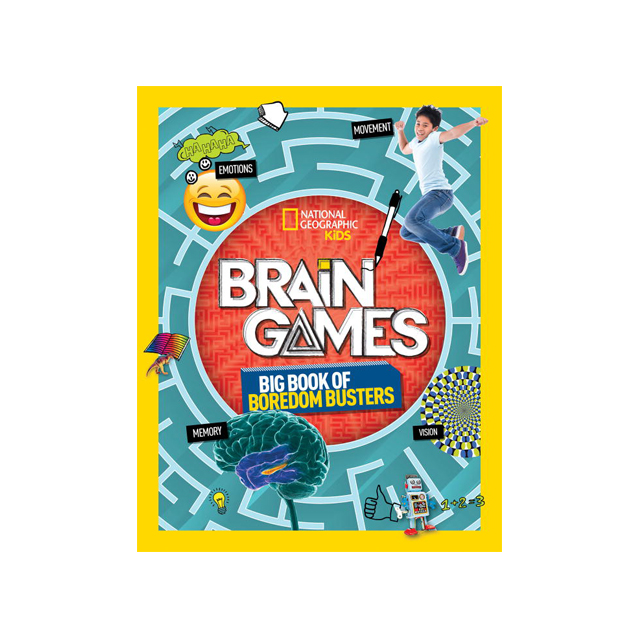 National Geographic Kids Brain Games: Big Book of Boredom Busters