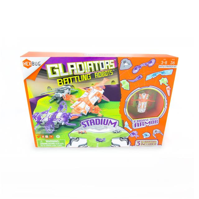 Hexbug Gladiators Batting Robots Stadium