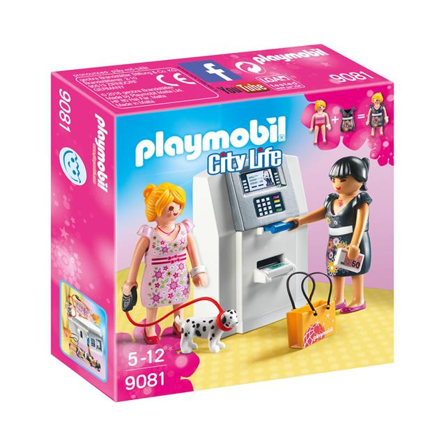 Playmobil City Life ATM