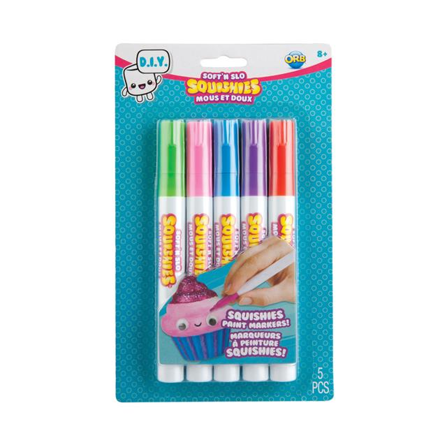 ORB Soft'n Slo Squishies™ Markers - Brights