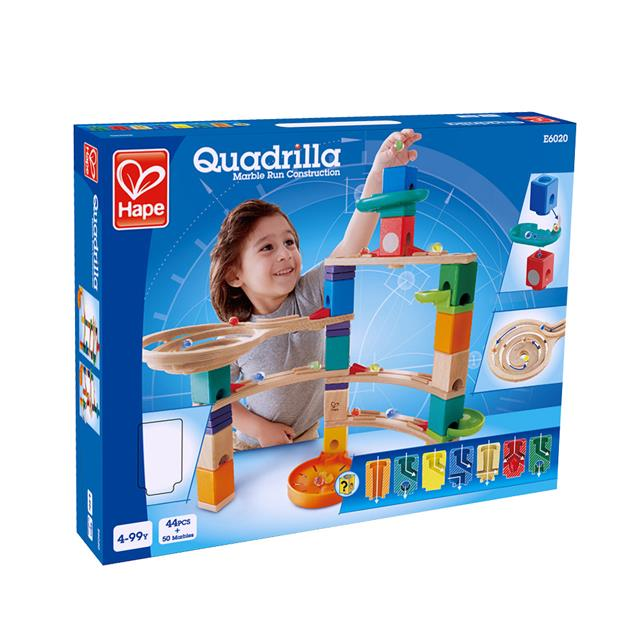 Hape Quadrilla Cliffhanger Marble Run