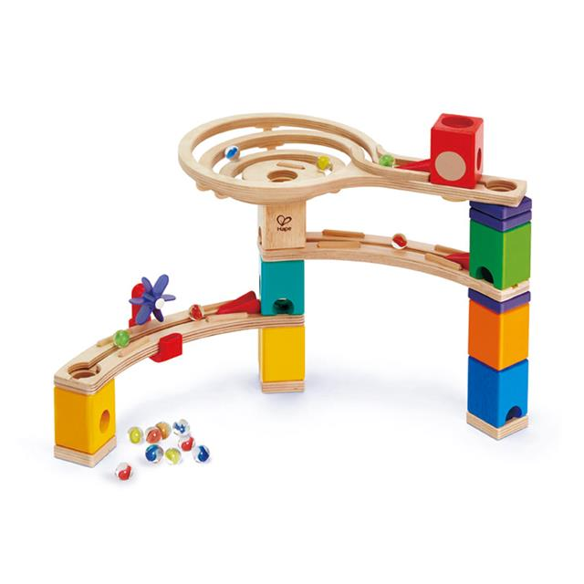 Hape Quadrilla Race to the Finish Marble Run