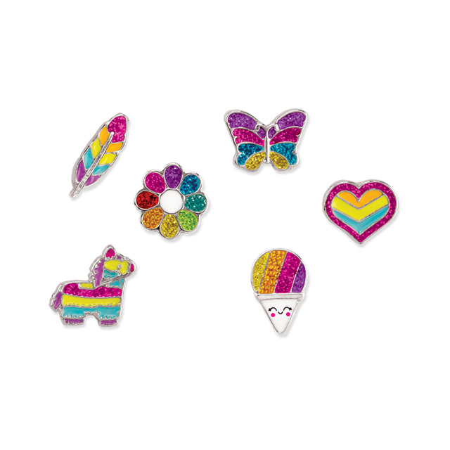 CHARM IT! Rainbow Earring Party Set