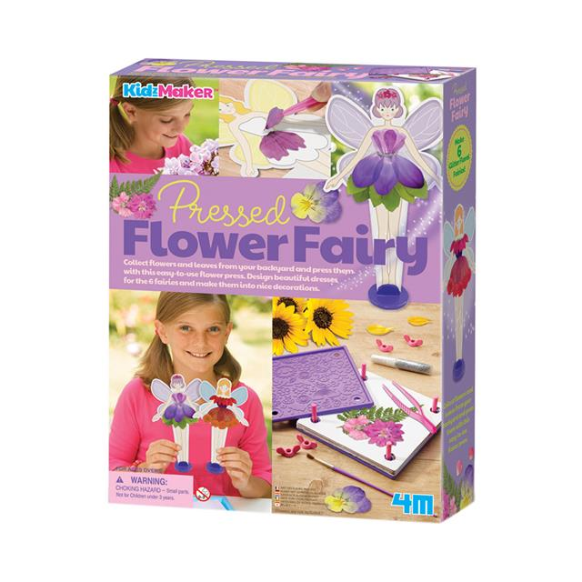 4M KidzMaker Pressed Flower Fairy